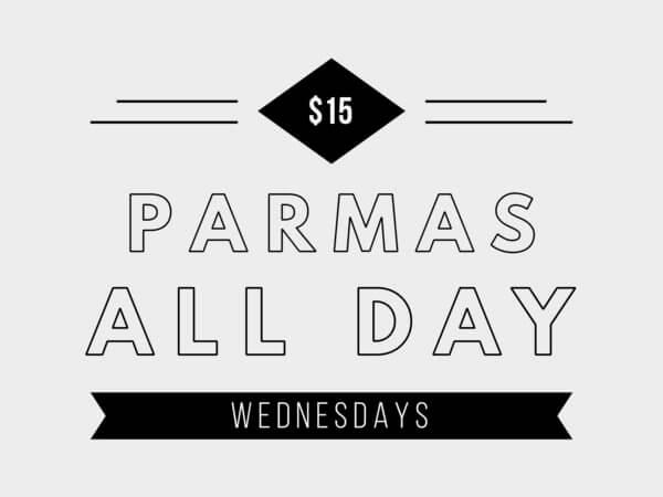 $15 Parma Wednesdays The Osborne South Yarra Pub Restaurant Bar