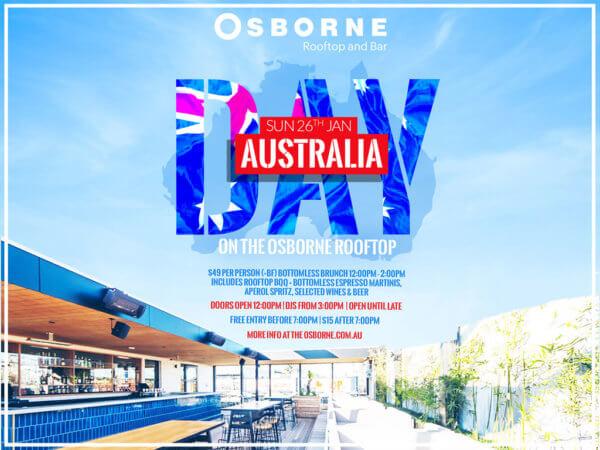 Australia Day Osborne Rooftop South Yarra