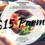Wednesday Parma Special - The Osborne Rooftop - South Yarra