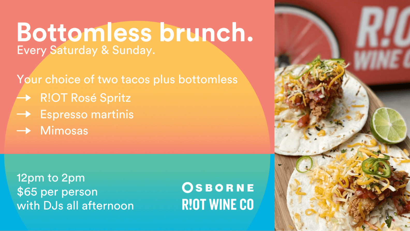 Bottomless Brunch - The Osborne Rooftop