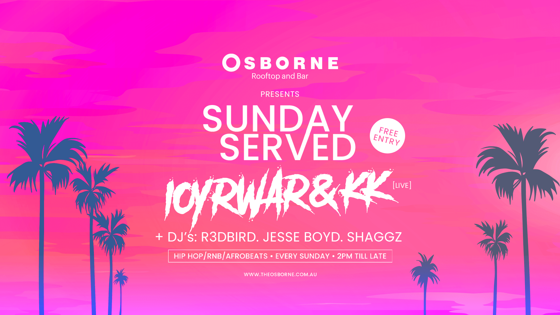 Sunday Served - Osborne Rooftop